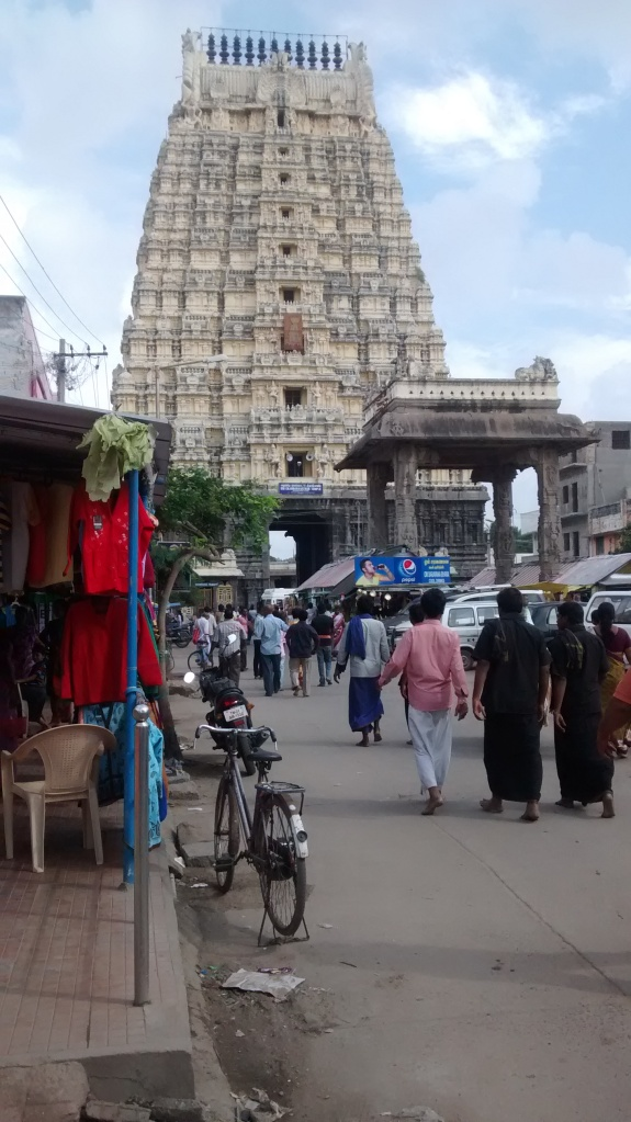 IEkambareswar temple entrance Gopuram