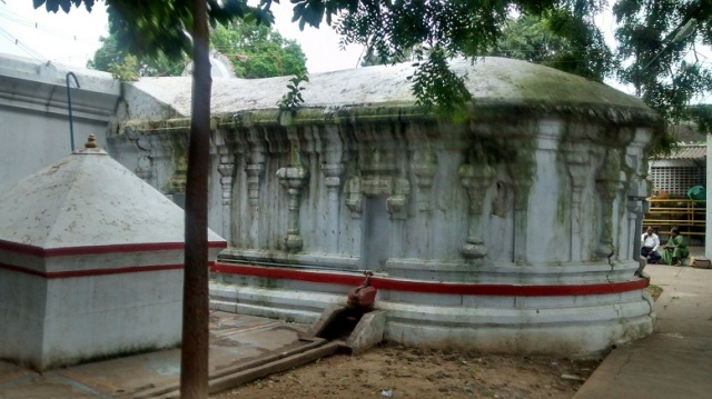 11. Typical pallava style -rectangular with circular end