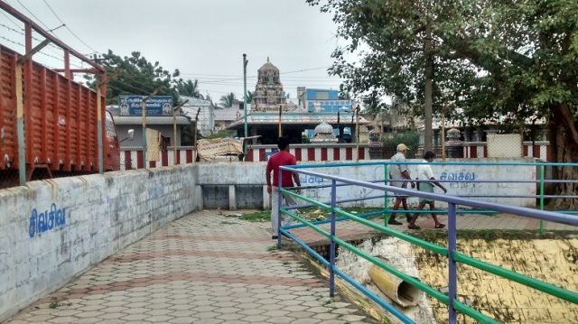 20. south-west corner of the tank-Adikesavaperumal temple can be seen