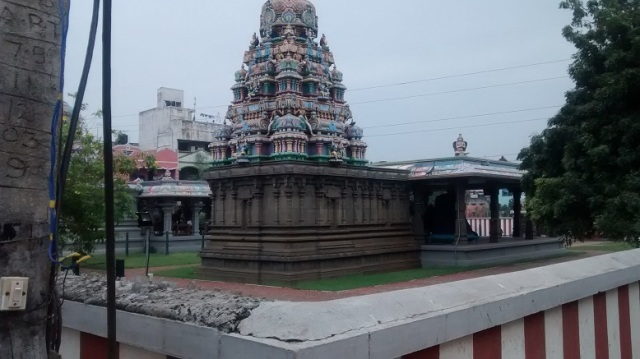 25. View of the temple from outside s-w