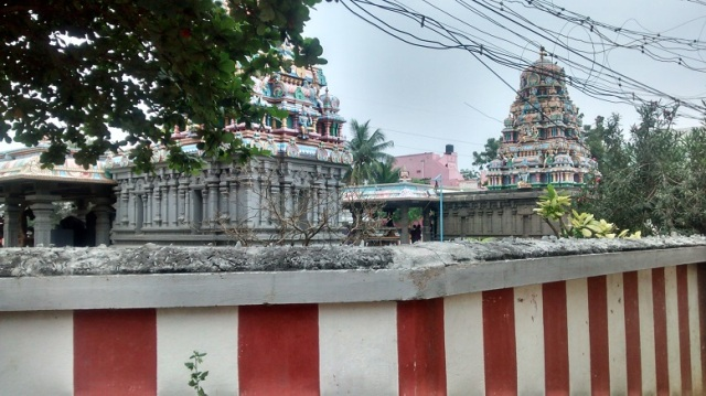 26. view from N-W of Perumal temple