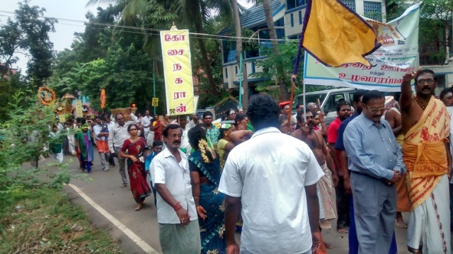 34. Tirumarai procession