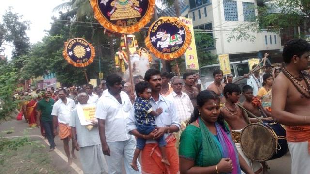 35. Tirumarai procession-another view