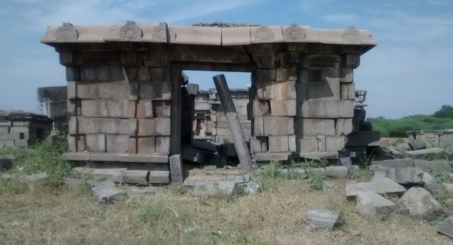 Pennalur Siva Temple - entrance