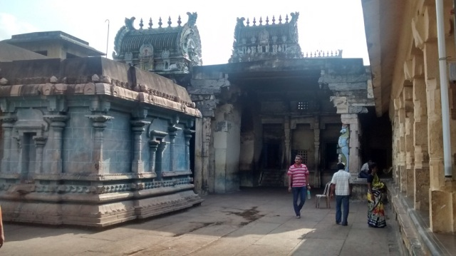 21. Tirukkadaiyur temple- backside