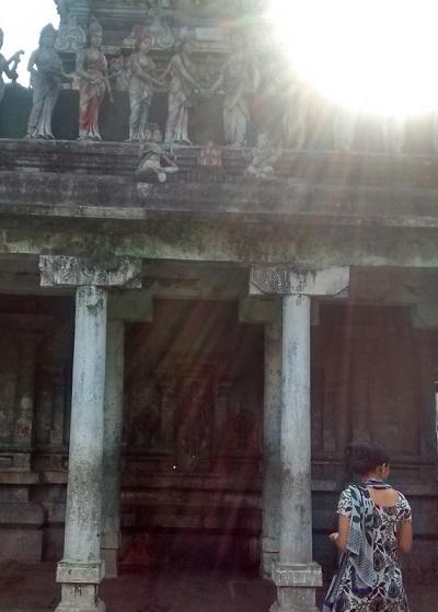 22. Tirukkadaiyur temple- backside- lingotbavar