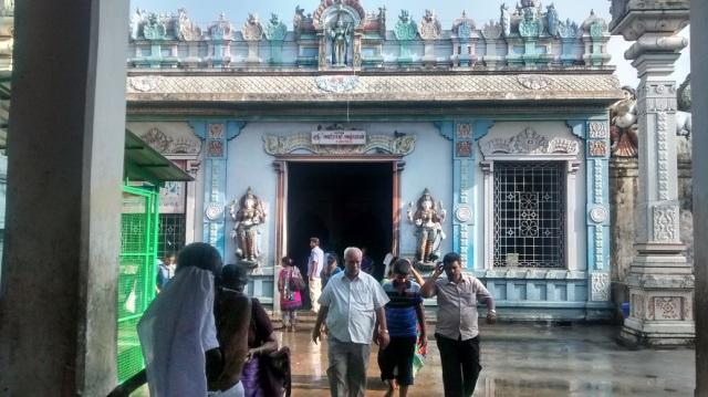 36. Tirukkadaiyur temple- Abhirami entrance