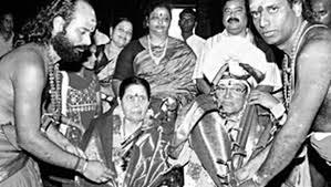 திருக்கடையூரில் டி.எம்.எஸ் யாகம் செய்த போது படம்