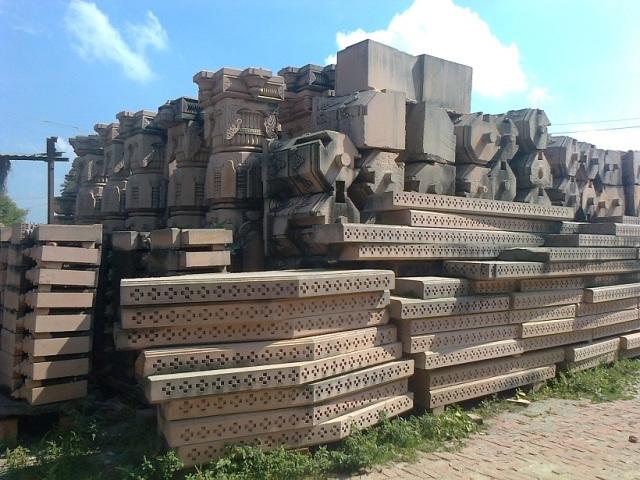 13. Ramjanmabhumi Naya Mandir - Parts are ready