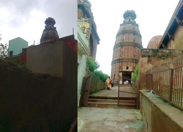 2. மதன மோஹன கோவில் போகும் வழி படிகட்டுகள்