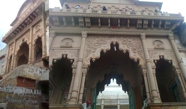 1. நந்தகாவ் கோவில் குன்று மீது.இரண்டு மாடிகள்
