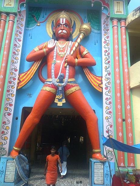 36. Ayodhya- Bade Hanumanji entrance