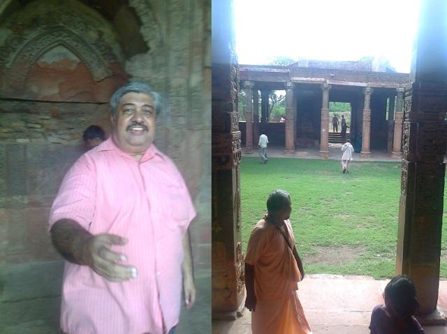 5. செதுக்கப்பட்ட 84-தூண்கள் கொண்ட மண்டபம்..குழு அங்கத்தினர்கள்