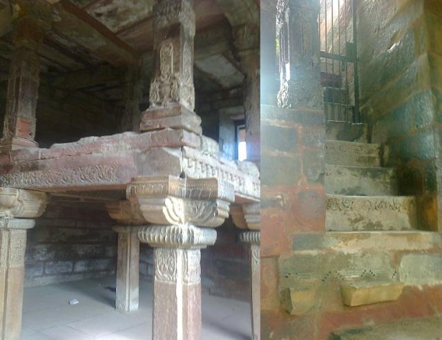 6. செதுக்கப்பட்ட 84-தூண்கள் கொண்ட மண்டபம்..படிகட்டுகள்