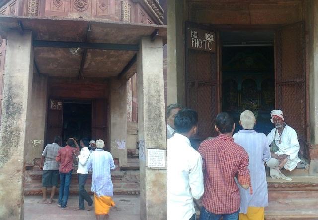 6. மதன மோஹன கோவில் - மூலவரை போட்டோ எடுக்கக் கூடாது என்று உறுதியாகச் சொல்லிவிட்டார்