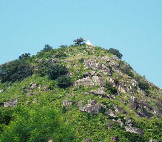 Brahmayoni Hill, Full View, Gaya, Bihar