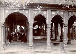 gyanvapi-mantap now in mosque 1880 picture
