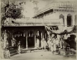 Gyanvapi Nandi facing mosque