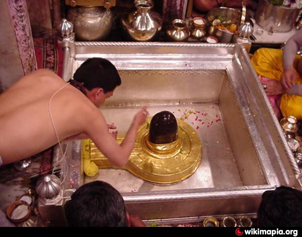 Kashi Viswanath Linga, present one
