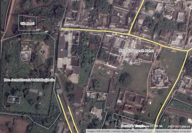 RJM, Sita ka Rasoi Location Wikimap