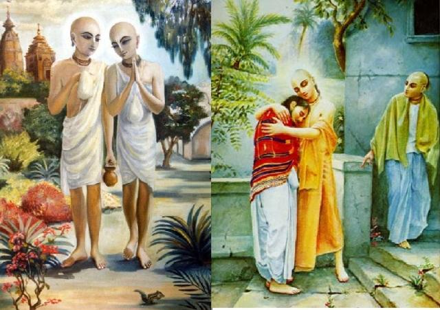 1.1. சனாதன் கோஸ்வாமி சகோதரருடன்