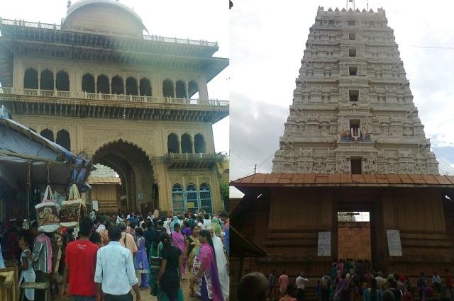 4. விருந்தாவனம் -  ரங்கநாத கோவில், வாசல் வளைவு, கோபுரம்