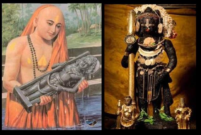 உடுப்பி கிருஷ்ண விக்கிரகம்- மத்வர் ஸ்தாபித்தது
