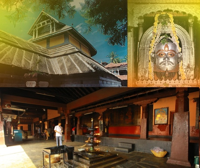உடுப்பி - ஶ்ரீ சந்திரமௌலீஸ்வரர் கோவில்-உட்புறம்