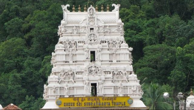 குகி சுப்ரமண்ய கோவில் கோபுரம்