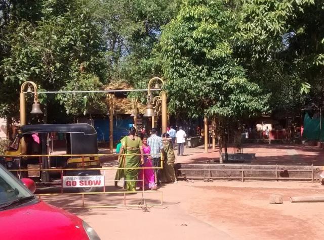 சௌதட்கா வினாயாகர் கோவில்- நுழைவு வாசல்