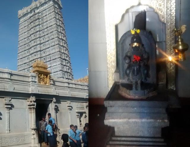 முருடேஸ்வர் - கோவில் வளாகம் - சனீஸ்வரர்
