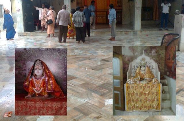 ரவல் - ராதா பிறந்த இடம்.தவழும் ராதா குழந்தை விக்கிரகம்