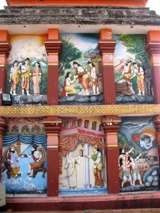 ஶ்ரீ ராம க்ஷேத்திர - தர்மஸ்தல- சிமின்ட் சிலைகள்