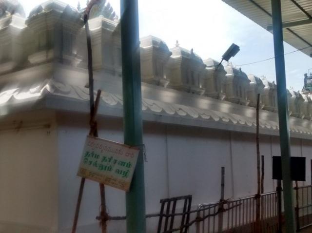சுருட்டப்பள்ளி - கோவில் உட்புறம்- பின்பக்கத் தோற்றம்