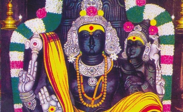 Surattappali idol - Dakshinamurthy with wife-full printed-portion