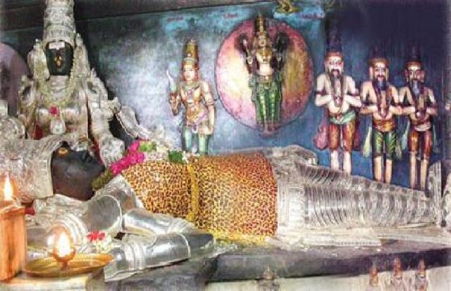 Surattappalli Siva idol- with different alankara