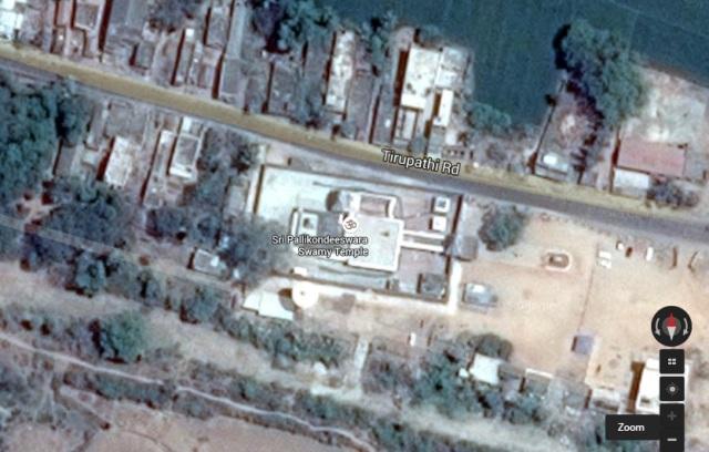 Suruttappalli location, Google map