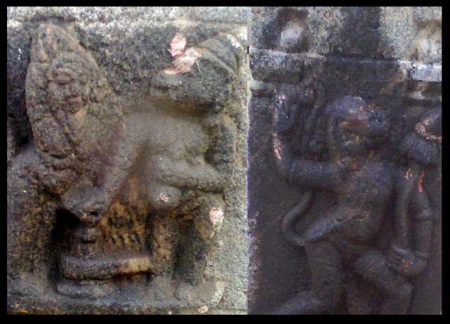 அகஸ்தீஸ்வரர், திருமுக்குக்கூடல். லிங்கம்-அகஸ்தியர், அனுமார்