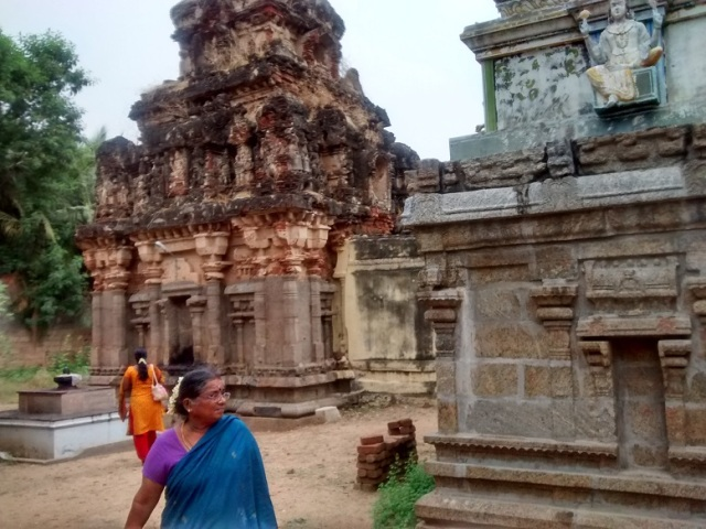திருமுக்கூடல் கோவில் - வடமேற்கு மூலையிலிருந்து பின்பக்கத் தோற்றம்