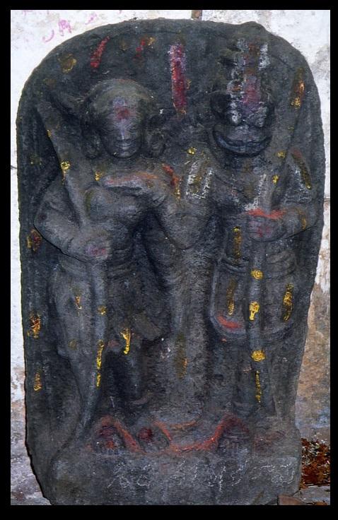 chenchu-princes-warrior-with-narasimha-ahobilam