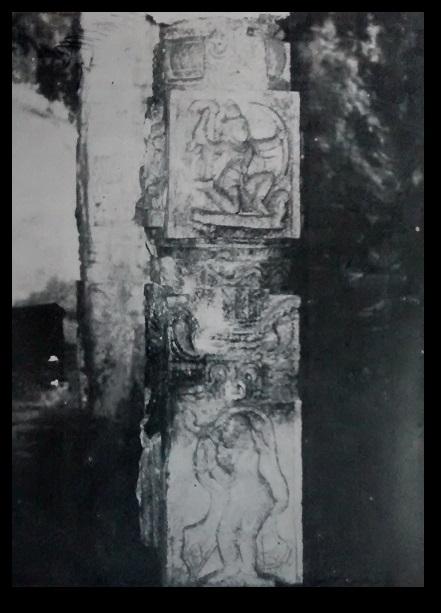 kroda-varaha-narasimha-temple-viayanagara-period-mantap-pillar-rama-anjaneya-sculpture