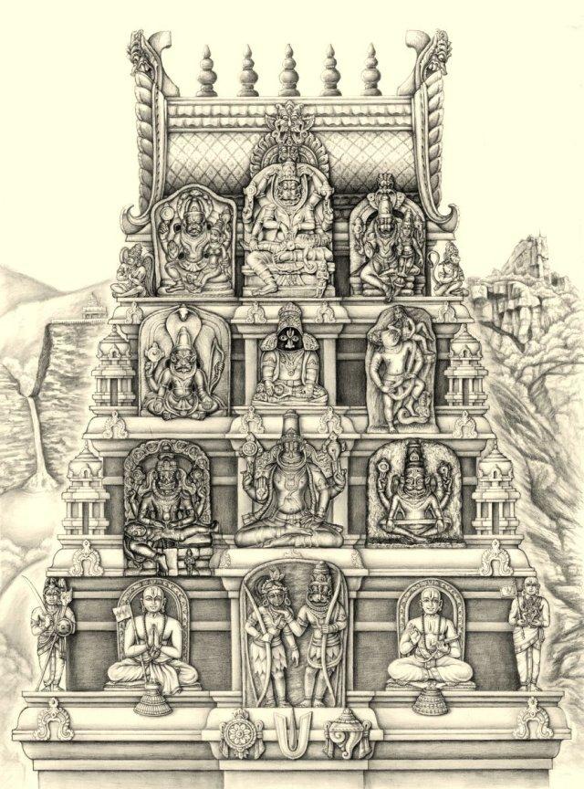 nava-narasimha-sketch