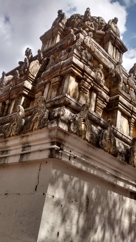 Bharhava Narasimha temple- down hillock-backside view