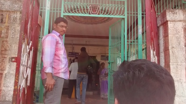 Bharhava Narasimha temple- entrance