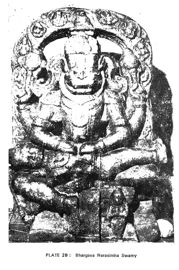 Bharhava Narasimha temple- Vigraha inside- Sitapati book