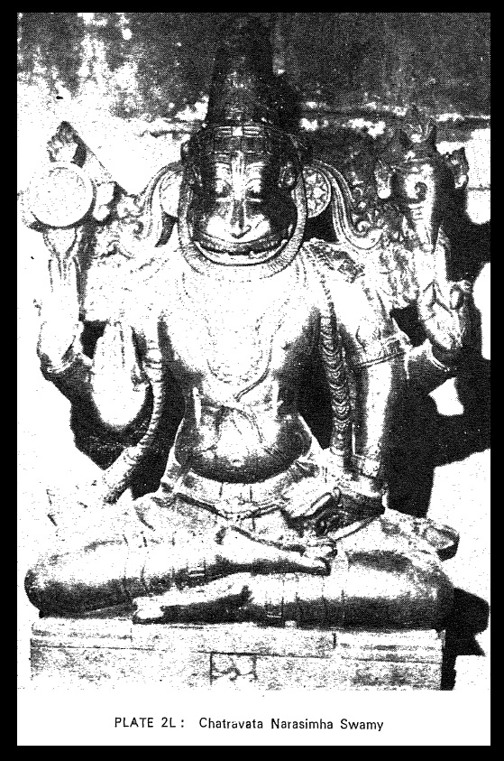 Chatravata Narasimha idol - Sitapati photo