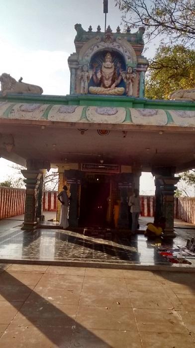Chatravata Narasimha temple- six-pillared mantap