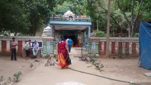 Karanja - Saranga Narasimha temple -entrance.