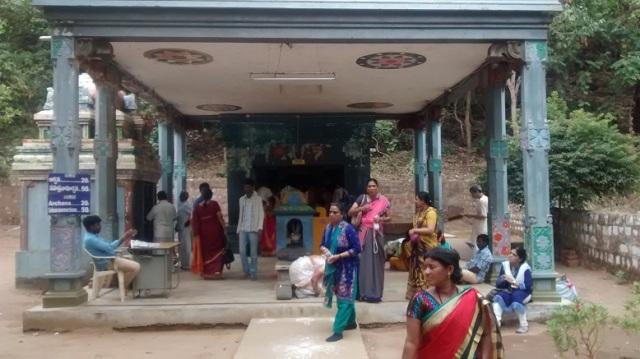 Karanja - Saranga Narasimha temple -Mantap newly constructed in front