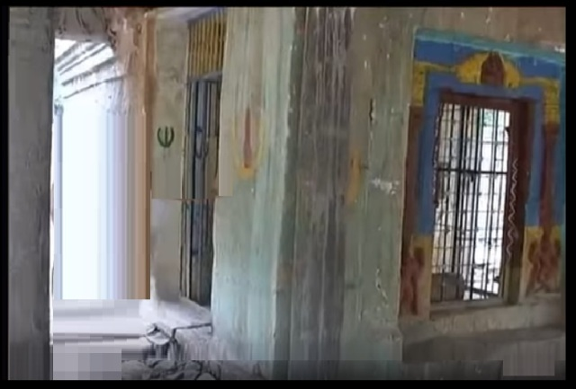 Pavana Narasimha - temple - Garuda -old view side--Chaitanya